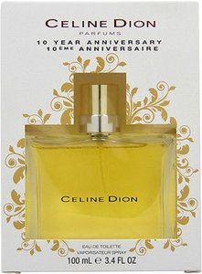 Celine Dion Celine,Dion,10,Year,Anniversary,By,Celine,Dion,3.3,3.4,Oz,Perfume,Edt,In,B