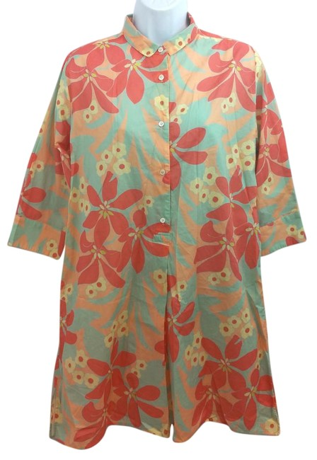 Item - Printed Cotton Dress S M Cover-up/Sarong Size 6 (S)