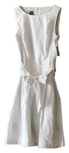 Anne Klein short dress Optic White Breezy Summer Chevron on Tradesy