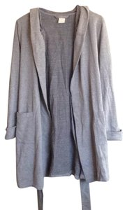 Sonoma Gray Hooded Robe