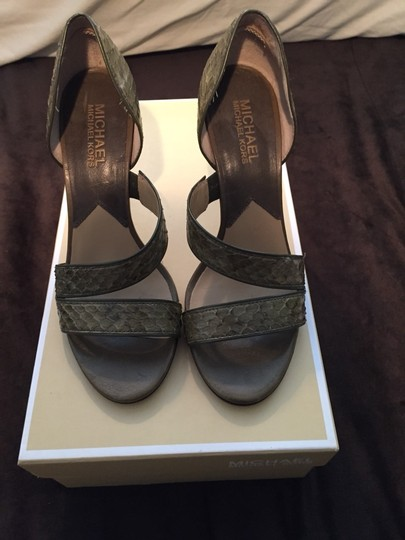 Michael Kors Green Sandals