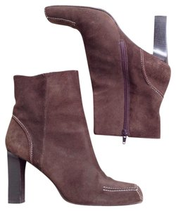 Via Spiga Suede Brown Boots