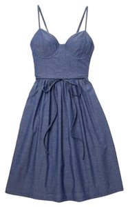 Steven Alan short dress Denim on Tradesy
