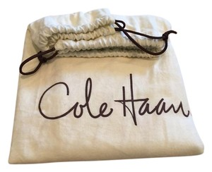 Cole Haan Leather Monogram Tote in Black