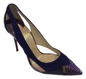 Christian Louboutin Galata Purple Pumps