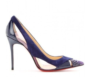 Christian Louboutin Galata Heels Purple Pumps