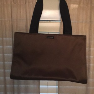 Kate Spade Nylon Tote Classic Brown Travel Bag