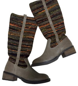 Sbicca Taupe, orange, multi Boots