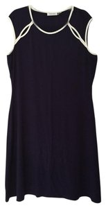 Calvin Klein short dress Navy Cut-out on Tradesy
