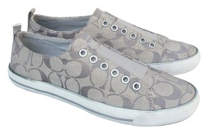 Coach Sneaker Signature silver Athletic