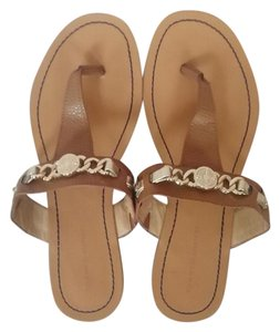 Tommy Hilfiger Flat Sandal Brown Sandals