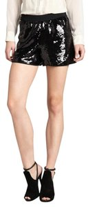 Dolce&Gabbana Sequin Mini/Short Shorts BLACK