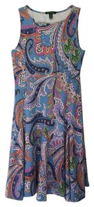 Lauren Ralph Lauren short dress Colorful Paisley on Tradesy