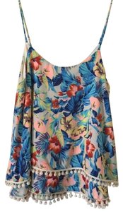 Dillard's Summer Sleeveless Top Floral