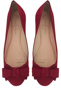 Jessica Simpson Red Flats