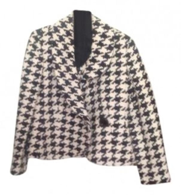 Preload https://item1.tradesy.com/images/ellen-tracy-black-and-white-spring-jacket-size-petite-8-m-186070-0-0.jpg?width=400&height=650