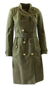 Tory Burch Vanna Belted Trench Caper Trench Coat