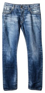 Robin's Jean Mens Straight Leg Jeans-Light Wash