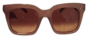 Céline Celine CL41076 S Sunglasses Oversized Opal Pink Brown
