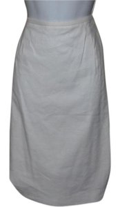 Anne Klein Hot Fitted Fully Lined Skirt White