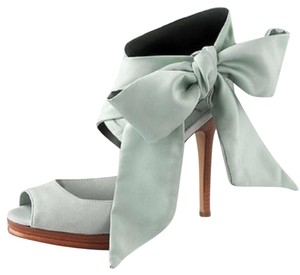 Diane von Furstenberg Light blue Platforms