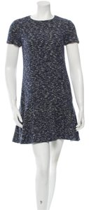 Tory Burch short dress dark blue on Tradesy