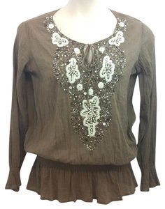 Kay Celine Brown Top
