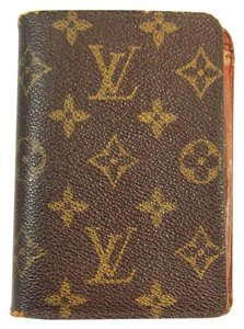 Louis Vuitton Vintage Monogram Porte-Billets Identite Passport Cover Wallet