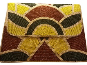 Virgos Lounge Beaded Multi Clutch