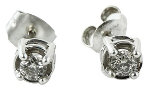 Other Diamond 0.30 CTTW in 10K White Gold Studs Earrings