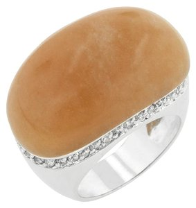 Other Peach Stone Cocktail Ring [SHIPS NEXT DAY]