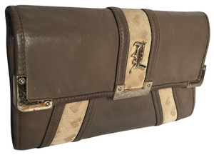 L.A.M.B. Brown Clutch