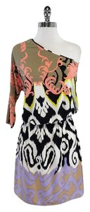 Tibi short dress Multi Color Print One on Tradesy