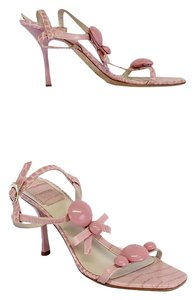 Dior Pink Jaipur Leather Sandal Sandals