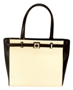 Kate Spade Demarco Tote in Cream and Black