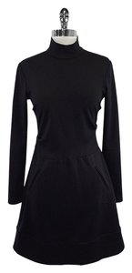 Nicole Miller short dress Black Long Sleeve on Tradesy