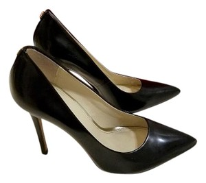 Coach Leather Pump Pump Black Pumps