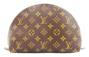 Louis Vuitton Trousse Demi Ronde 26 Pochette Toilette Cosmetics Bag