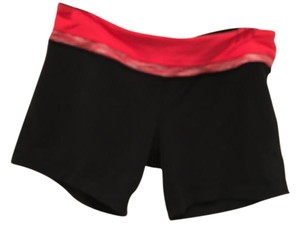Lululemon Lulu Biking Cycling Bike Black Shorts