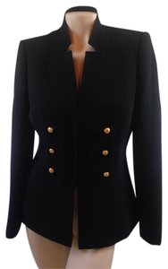 Elie Tahari Military 3 Buttons Military Jacket