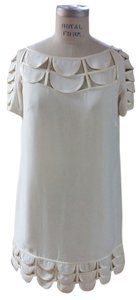 Temperley London Scalloped Silk Chloe Dress