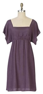 Anthropologie short dress Purple on Tradesy