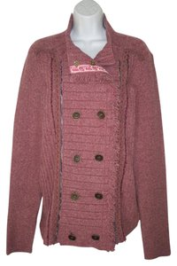Free People Knit Plush Cardigan