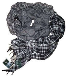 Ralph Lauren Plaid Wool Scarf