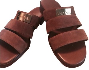 Chanel Brown Sandals