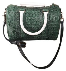 Clare V. Crocodile Fashion Cross Body Bag