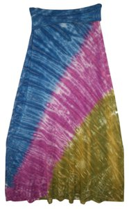 Lucky Brand Dress Tie Dye Knit Maxi Skirt