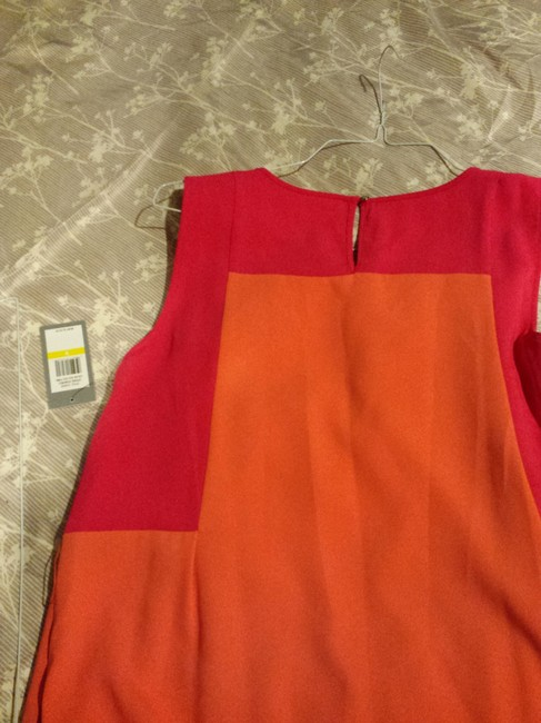 Chaus short dress Hot Pink and Tangerine on Tradesy Image 1