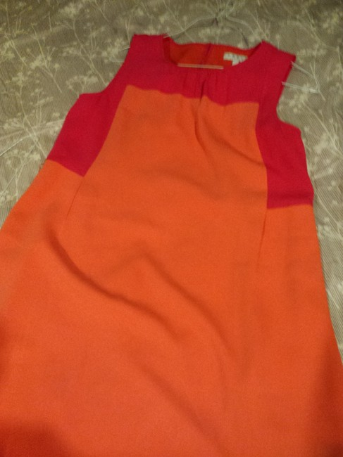 Chaus short dress Hot Pink and Tangerine on Tradesy Image 2