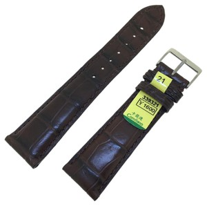 Comforto Brown Alligator Watch Strap 21mm*18mm